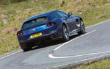 Ferrari GTC4 Lusso rear cornering