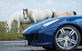 Ferrari GTC4 Lusso front end