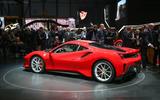 The Ferrari 488 Pista at the Geneva motor show