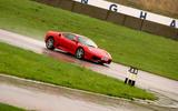 Ferrari F430 cornering