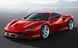 Ferrari F8 Tributo official press - hero front