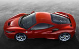 Ferrari F8 Tributo official press - top