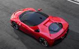 Ferrari SF90 Stradale press shots - roof