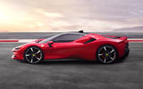 Ferrari SF90 Stradale press shots - side