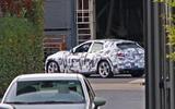 Ferrari SUV mule rear side