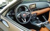 Fiat 124 Spider interior