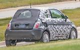 Fiat 500e spy shot