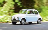 Fiat 500 at 60: original Nuova Cinquecento driven