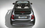 Fiat 500e 2020 leaked images - rear