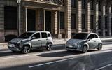 Fiat 500 Mild Hybrid and Fiat Panda Mild Hybrid 2020 - tracking side