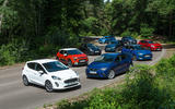 Ford Fiesta, Citröen C3, Kia Rio, Suzuki Swift, Renault Clio, Nissan Micra, Seat Ibiza, Mini One and Mazda 2