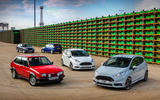 Ford Fiesta ST through the ages