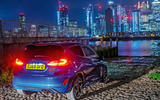 Ford Fiesta ST long term - Canary Wharf at night