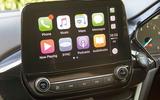 Ford Fiesta ST Apple CarPlay