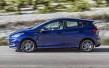 Ford Fiesta side profile