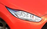 2012 Ford Fiesta ST road test - headlight
