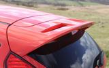2012 Ford Fiesta ST road test - spoiler