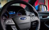 Ford Focus RS instrument cluster