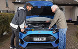 Ford Focus RS engine problem