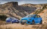 Ford Focus RS versus Volkswagen Golf R