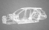 2020 Vauxhall Corsa bodyshell diagram
