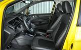 Ford Ecosport Titanium S interior
