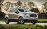 Three-star Ford Ecosport 1.0 Ecoboost 125 Zetec