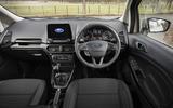 Ford Ecosport 1.0 Ecoboost 125 Zetec dashboard