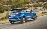 Ford EcoSport rear cornering