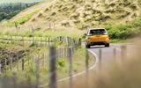 Ford Edge rear cornering