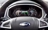 Ford Edge steering wheel