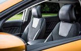 Ford Edge front seats