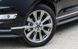 Ford Edge Vignale alloy wheels