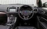 Ford Edge Vignale dashboard