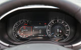 Ford Edge Vignale instrument cluster