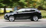 Ford Edge Vignale side profile