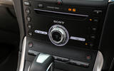 Ford Edge Vignale Sony infotainment system
