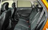 Ford Edge rear seats