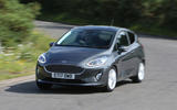 2020 Ford Fiesta - cornering front
