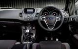 Ford Fiesta ST-Line dashboard