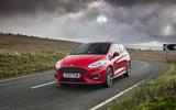Ford Fiesta ST-Line X cornering