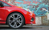 Ford Fiesta ST-Line 2018 long-term review alloys graffiti