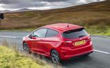 Ford Fiesta ST-Line X rear cornering