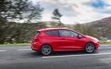 Ford Fiesta ST-Line X side profile