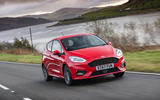 Ford Fiesta ST-Line X front quarter