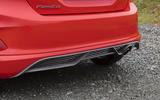 Ford Fiesta ST-Line X rear diffuser
