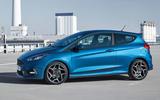 2017 Ford Fiesta ST side