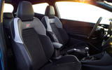 2017 Ford Fiesta ST driver's and passenger seat