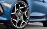 2017 Ford Fiesta ST wheels