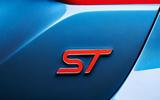 2017 Ford Fiesta ST badge